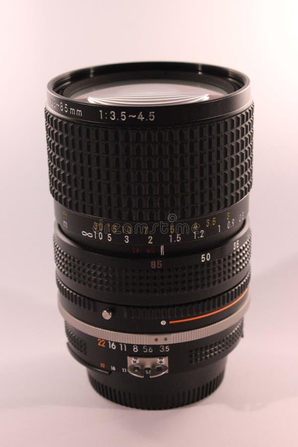 专业照相机的透镜 免版税库存照片