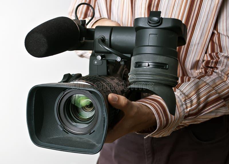 专业照相机 库存图片