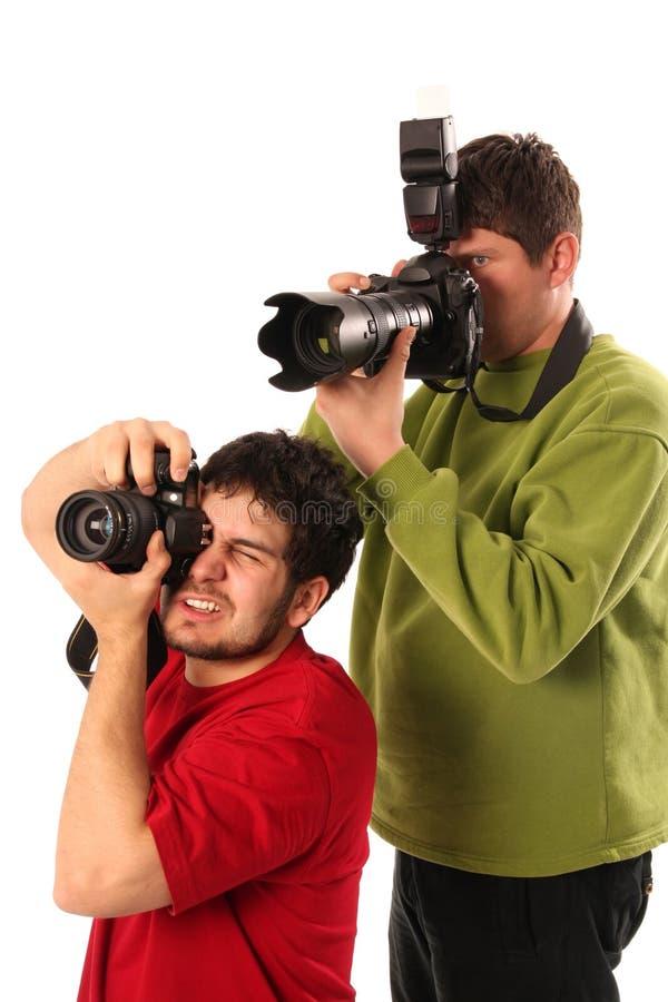 专业的摄影师 免版税库存图片