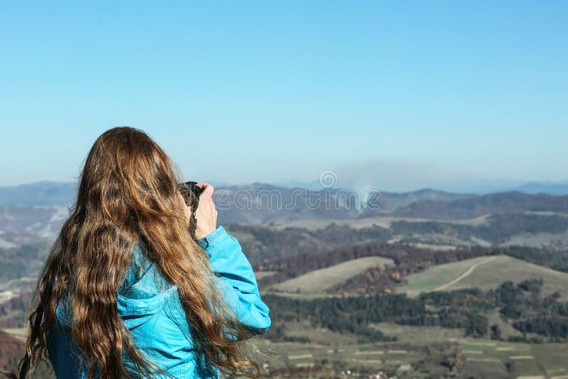 专业自然摄影师照相 库存照片