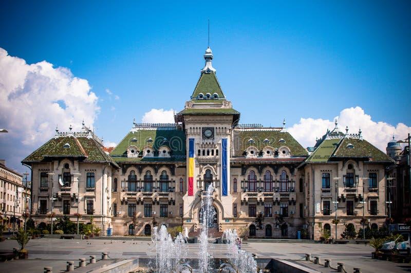 专区宫殿克拉约瓦 免版税图库摄影