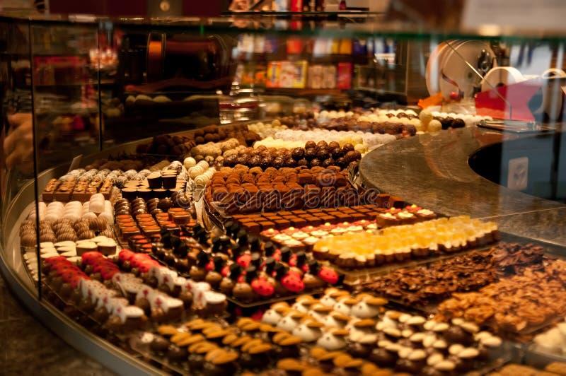 专属巧克力 免版税库存图片
