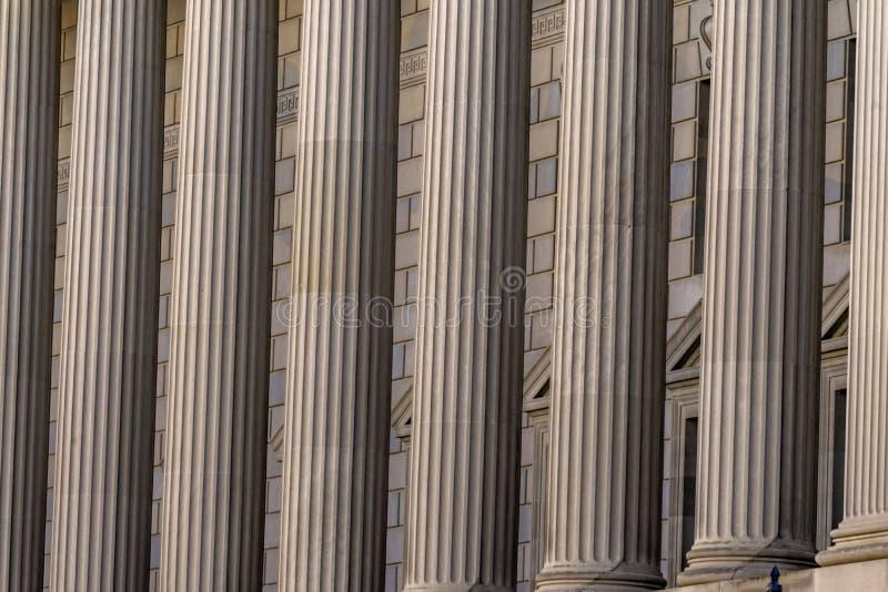 专栏赫伯特・胡佛大厦商务部华盛顿特区 免版税库存图片