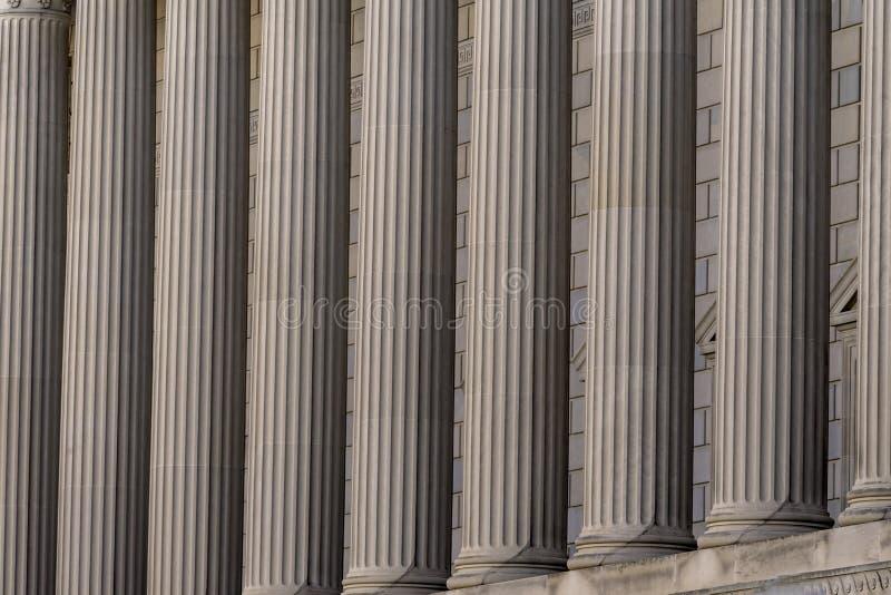 专栏赫伯特・胡佛大厦商务部华盛顿特区 免版税图库摄影