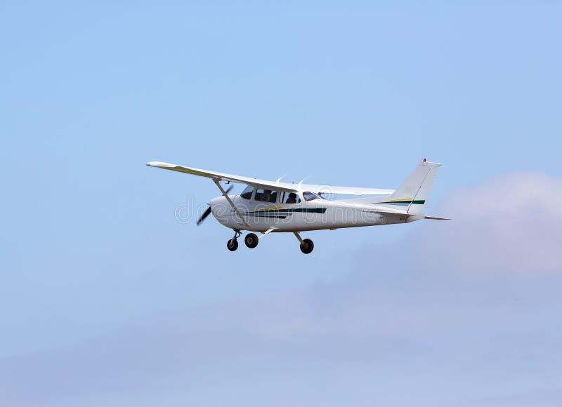 专用平面飞行 图库摄影