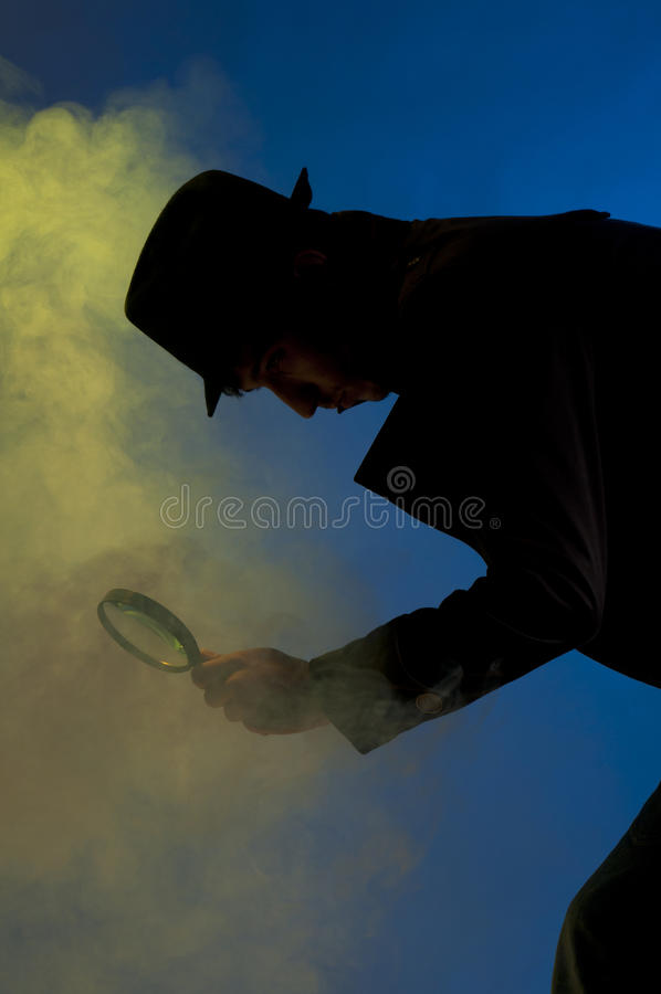 专用的探员 免版税图库摄影