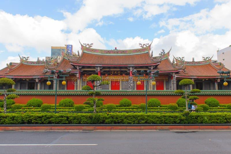 世新天狮孔在台北 免版税库存照片