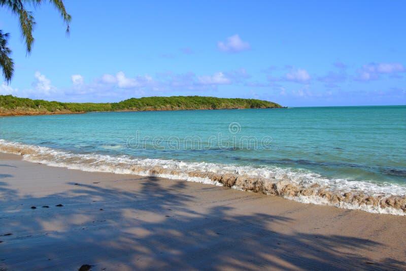 世界七大洋海滩波多黎各 免版税库存图片