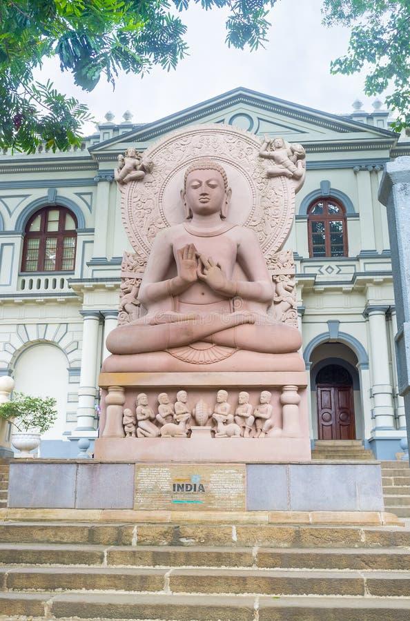 世界佛教徒博物馆 免版税库存图片