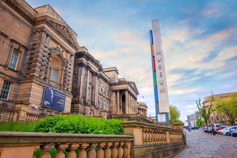 世界博物馆利物浦在利物浦,英国 库存照片