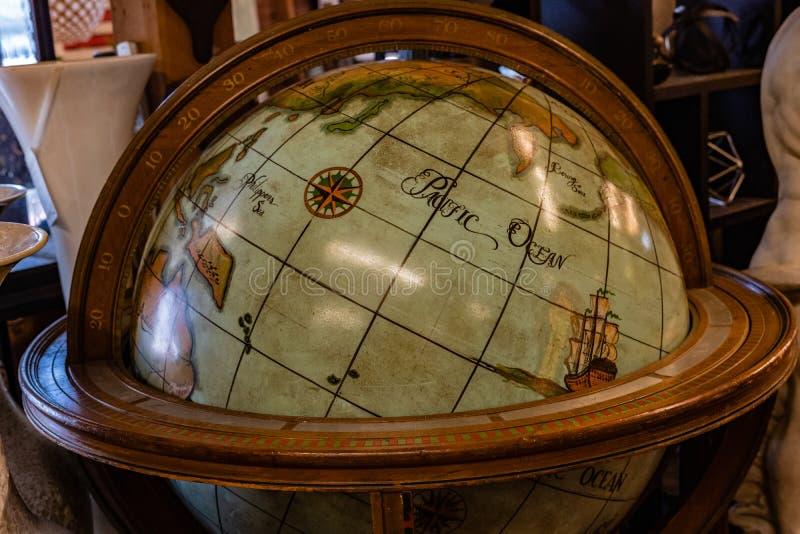 世界地图,减速火箭的地球,地图 库存照片