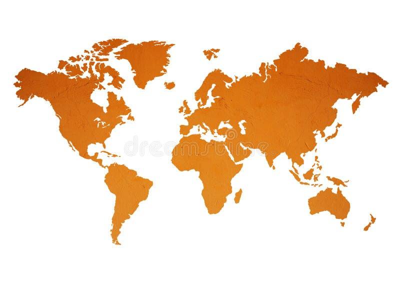 世界地图 图库摄影