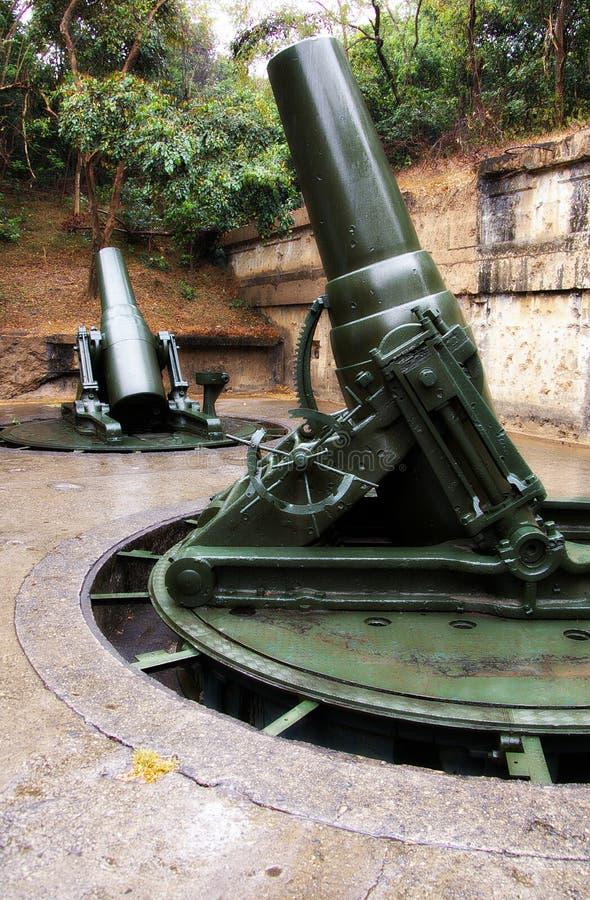 世界大战2枪 免版税库存图片