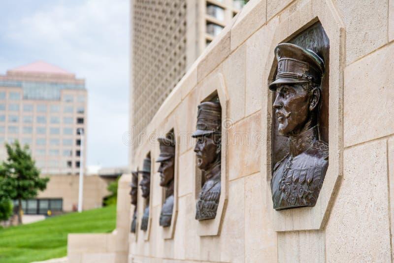 世界大战1纪念碑 免版税库存图片