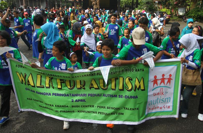 世界孤独性天在印度尼西亚 库存照片