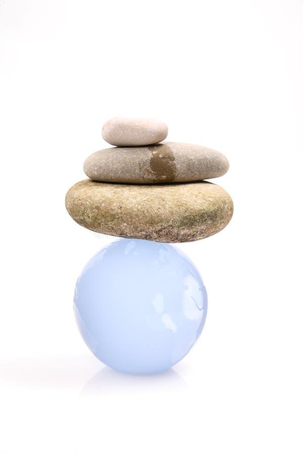 世界平衡 图库摄影