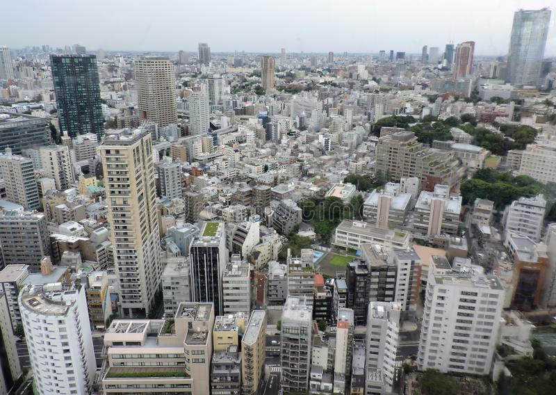 世界性东京 免版税图库摄影