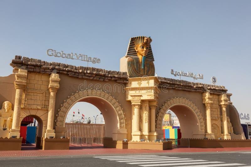 世界村Dubailand在迪拜 库存图片