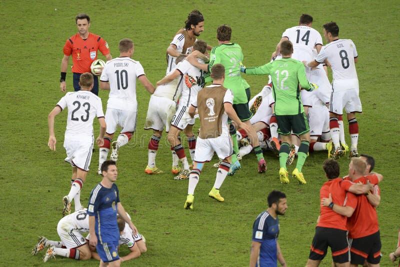 世界杯2014年 库存图片