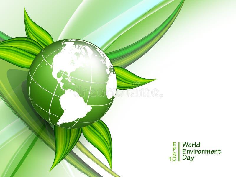 世界环境日传染媒介 向量例证