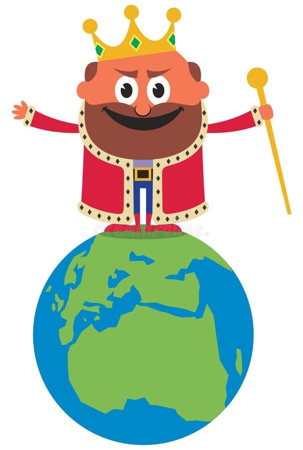 世界的国王 皇族释放例证