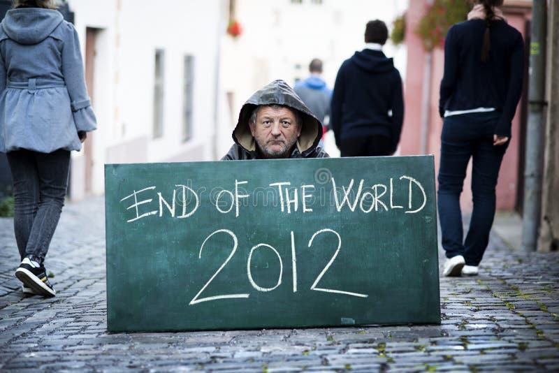 世界的末端 库存照片