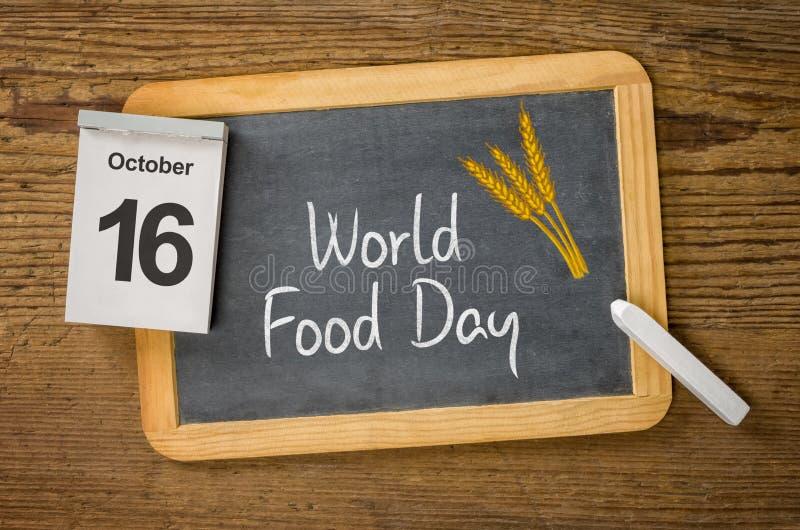 世界粮食日 库存图片