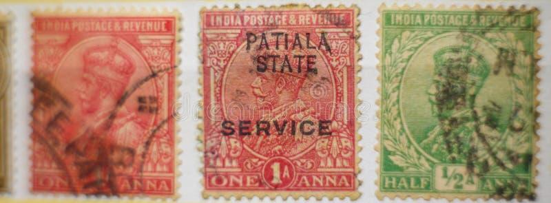 世界葡萄酒邮票印度,美好的GRAFICS 免版税库存图片