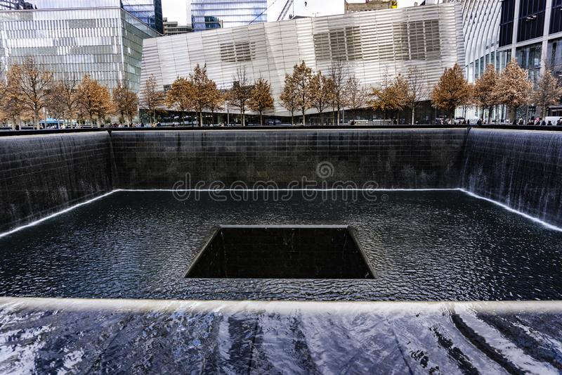 世界贸易中心,国家9月11日纪念和博物馆 免版税库存图片