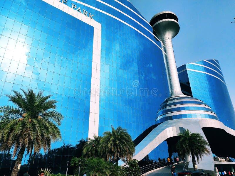 世界贸易公园WTP购物中心斋浦尔 免版税库存图片