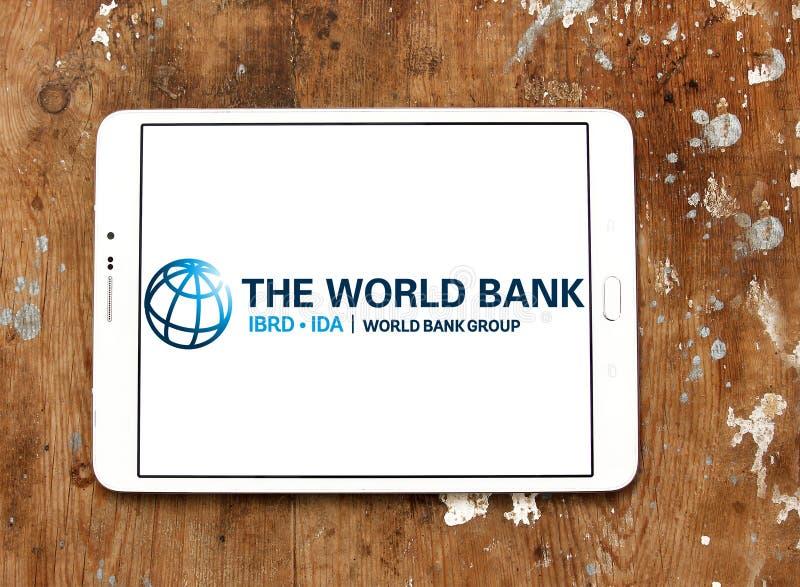 世界银行小组商标 免版税库存照片
