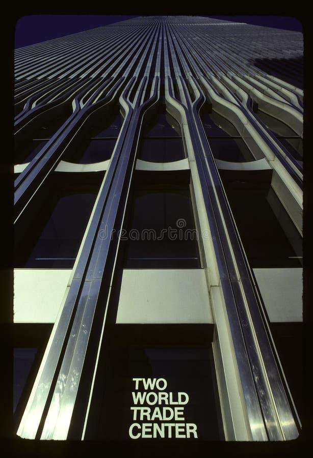 世界贸易中心二号大楼 免版税图库摄影
