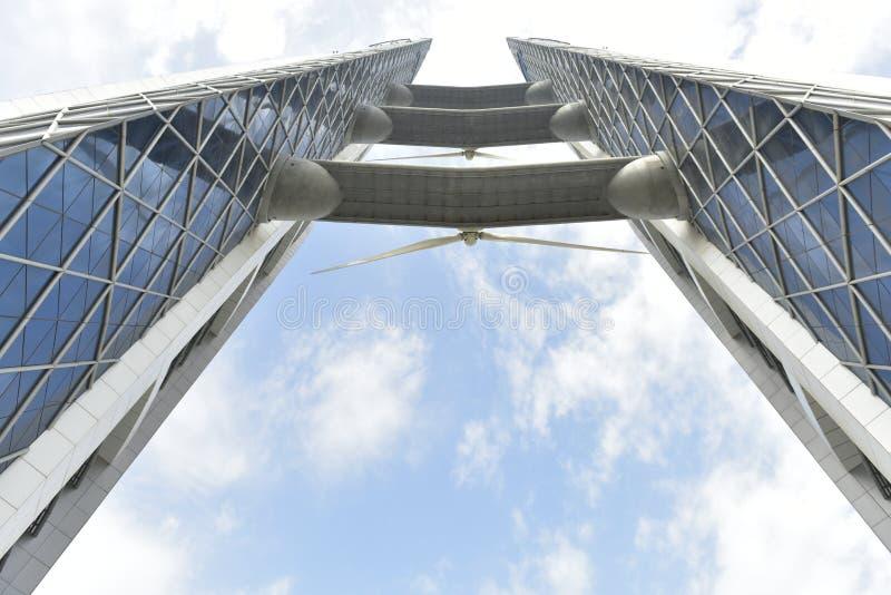 世界贸易中心,麦纳麦,巴林 免版税库存照片