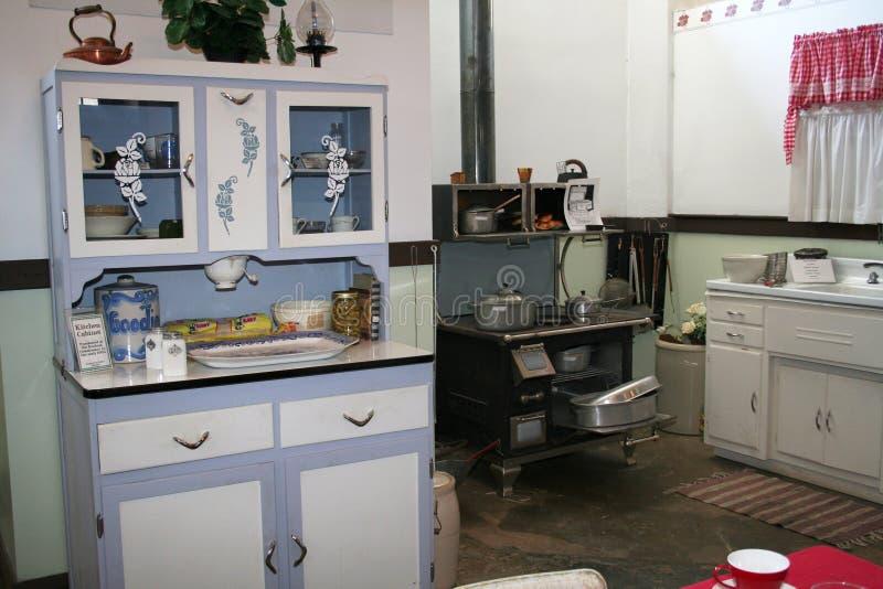 20世纪40年代厨房 免版税图库摄影