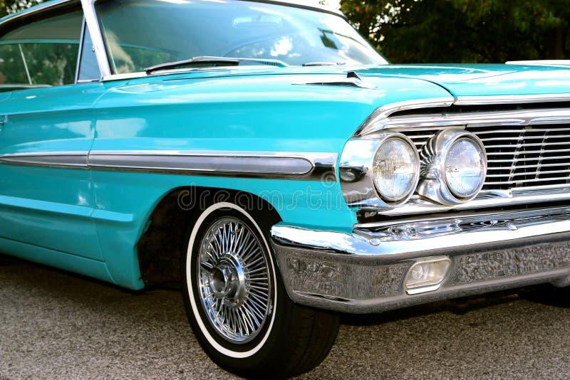 20世纪60年代式样经典福特星系500 XL 免版税库存图片