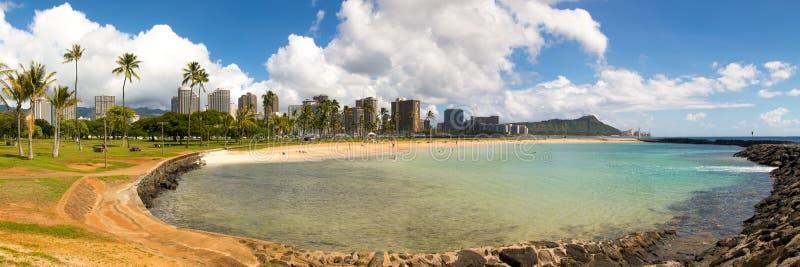 丙氨酸海滩moana公园 免版税库存图片