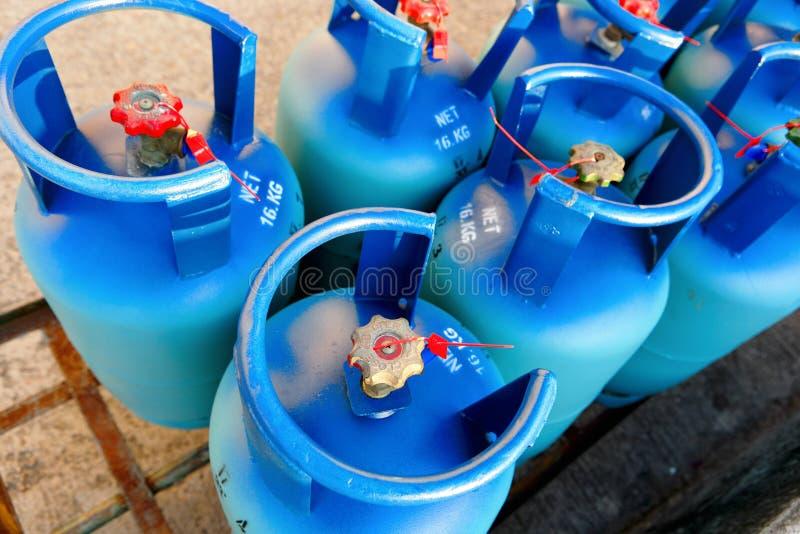 丙烷储罐 免版税库存图片