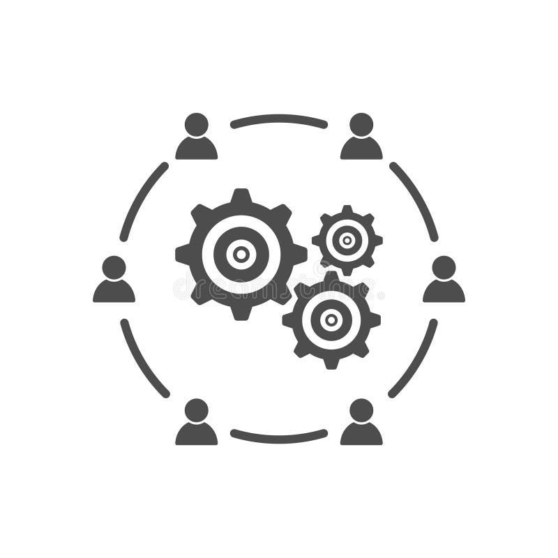 业务会议互作用通信发展象 向量例证