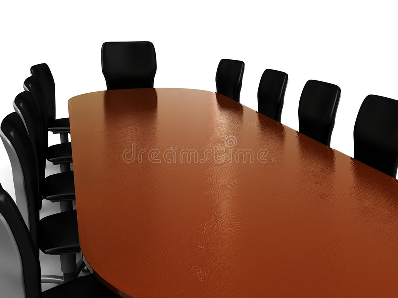 业务会议 向量例证
