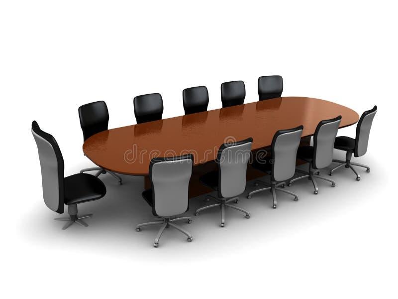 业务会议 皇族释放例证