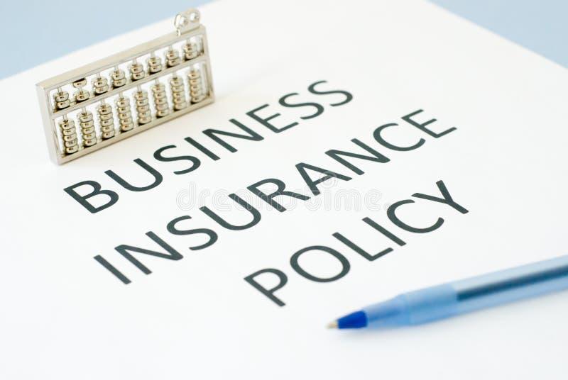 业务保险 免版税库存照片
