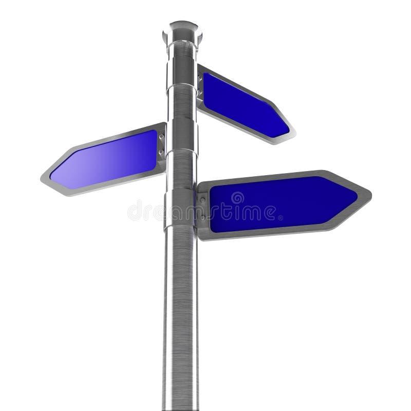 业务发展方向 向量例证