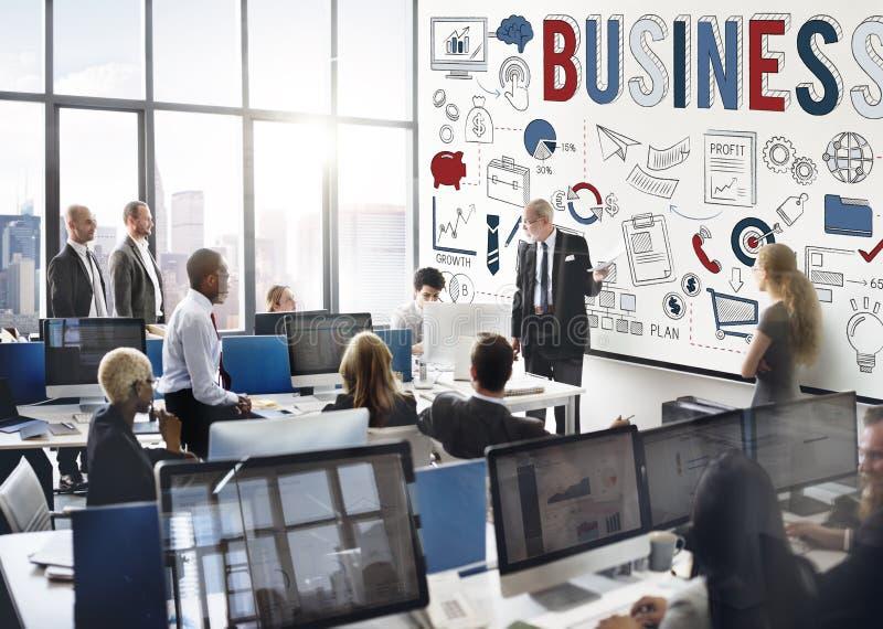 业务发展组织策略概念 库存图片