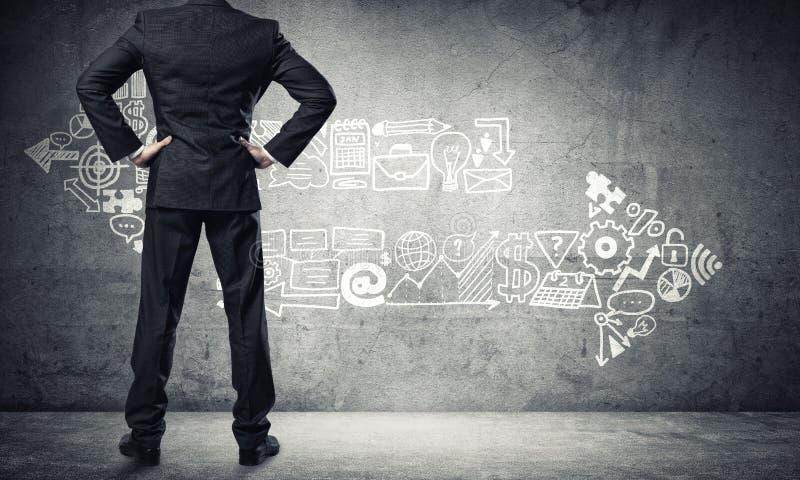 业务增长和进步概念 免版税图库摄影