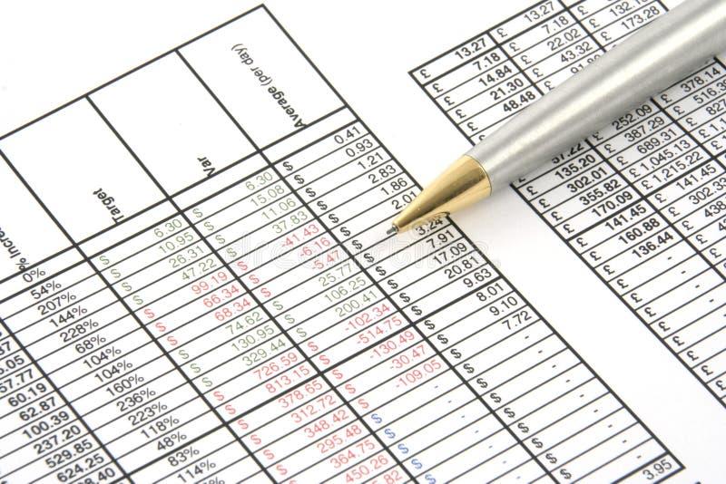 业务报告 免版税库存图片