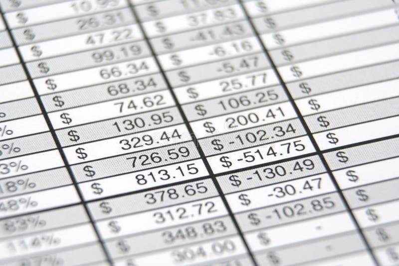 业务报告 免版税图库摄影