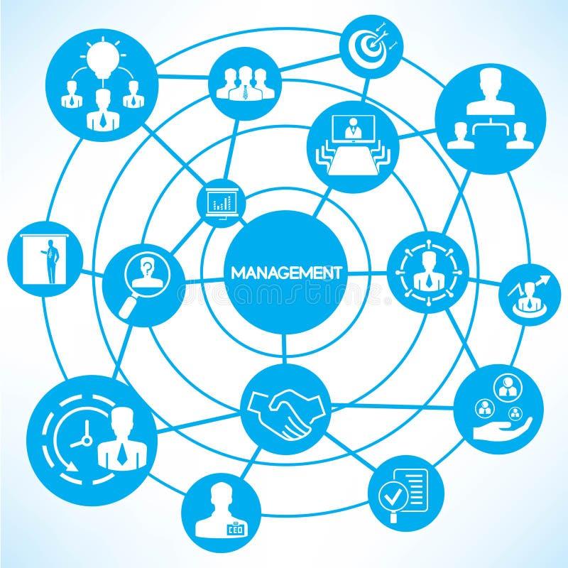 业务管理 向量例证