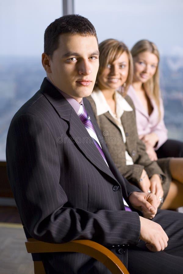 业务组人 免版税图库摄影
