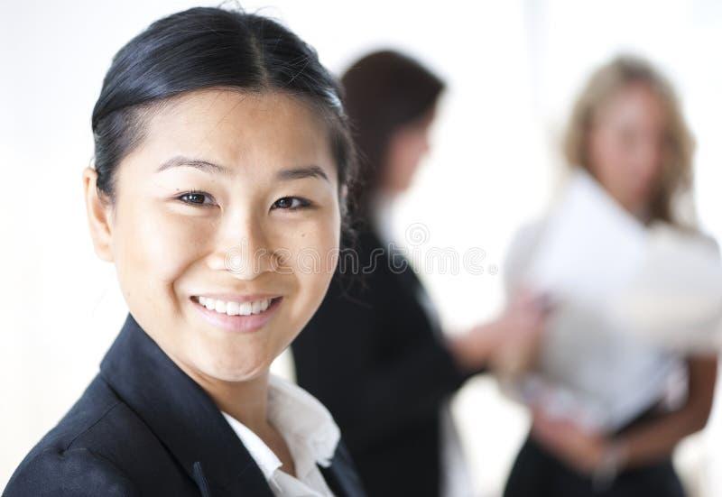 业务组妇女 免版税库存照片