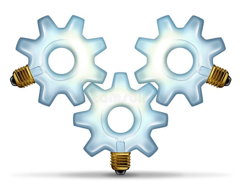 业务组想法 库存例证